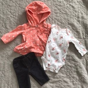 Carters newborn set